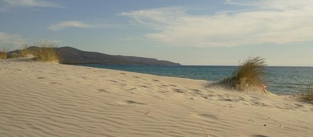 Sanddünen Chia Costa del Sud