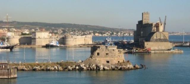 Fährhafen von Civitavecchia