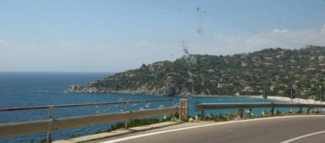 Panorama Küstenstraße Südsardinien
