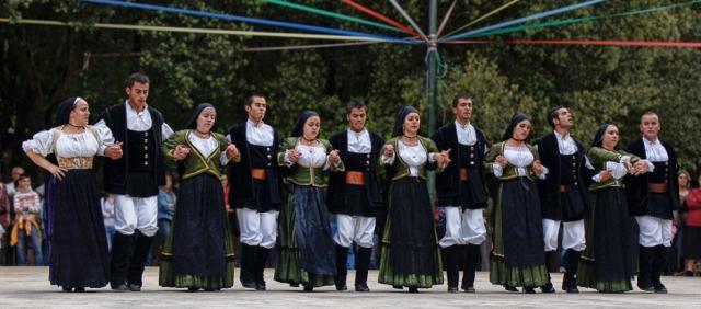Sardinien Folkgruppe in der Ogliastra