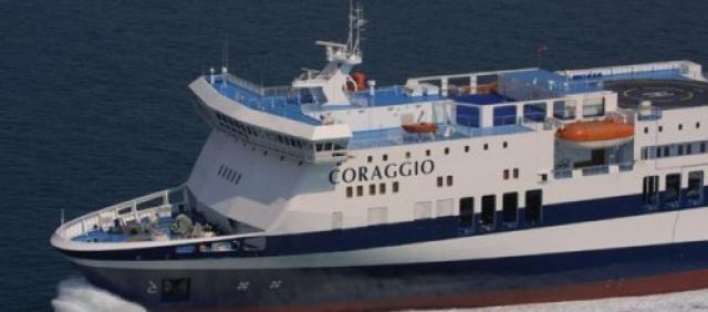 Fähre Corraggio Saremar