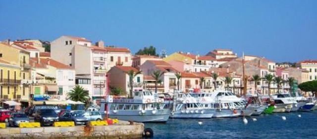 Ansicht Hafen von La Maddalena