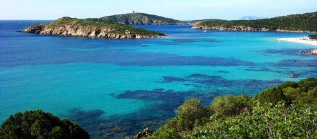 Sardinien - Strand von Tueredda