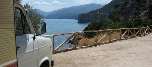 Sardinien Wohnmobil Cala Gonone
