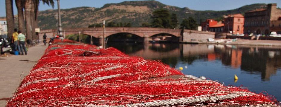 Bosa Fischernetze am Temo