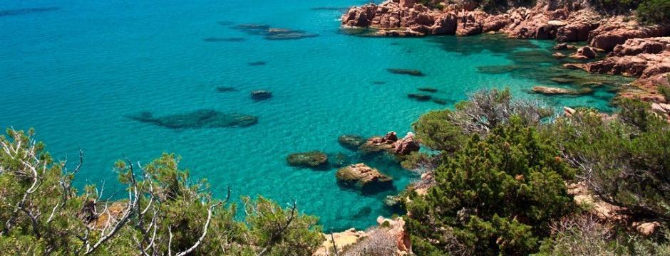 Meeresbucht Sardinien Ogliastra